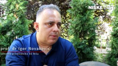 "Photo of IGOR NOVAKOVIĆ: Niš zaslužuje titulu ""prestonog grada"" (VIDEO)"