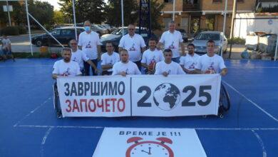 "Photo of KKK ""Nais"" ugostio predsednika Sportskog saveza osoba sa invaliditetom Kruševac"