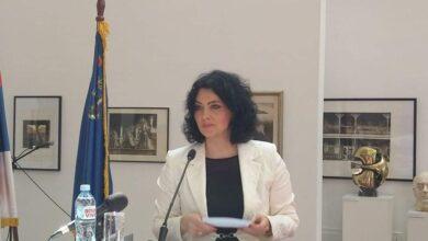 Photo of Dragana Sotirovski prva gradonačelnica u istoriji Niša