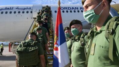 Photo of Kontigent sprskih vojnika sa niškog aerodroma otišao u mirovnu misiju u Liban