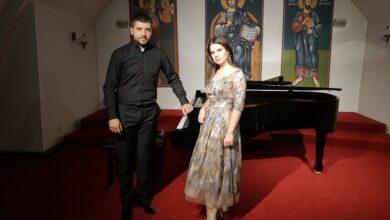 Photo of Nišlija Andrej Cincarević i Valjevka Andrijana Božić održali koncert u kripti crkve Svetog Marka
