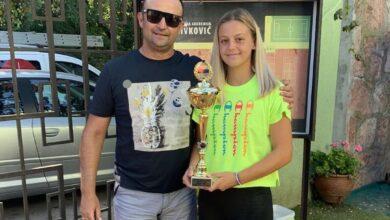 Photo of Niška teniserka Emilija Zdravković šampionka Srbije