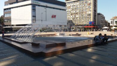 Photo of Proradila fontana na centralnom gradskom trgu