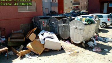 Photo of Nikako da promenimo loše navike. Kabasti otpad pored kontejnera svakodnevna slika Grada Niša (VIDEO)