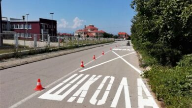 "Photo of JKP ""Parking servis"": Obeležavanje saobraćajnica, radovi na signalizaciji i rasveti"