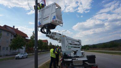 """Photo of JKP """"Parking servis"""": Zamena neispravnih sijalica i proširenje mreže javne rasvete"""