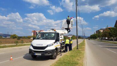 "Photo of JKP ""Parking servis"": Radovi na signalizaciji, obeležavanju saobraćajnica i javnoj rasveti"