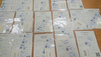 Photo of Carinici zaplenili falsifikovane sertifikate svetskih modnih brendova