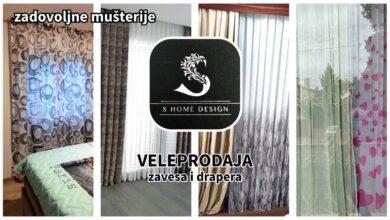 Photo of S HOME DESIGN: VELEPRODAJA zavesa, drapera i markizeta