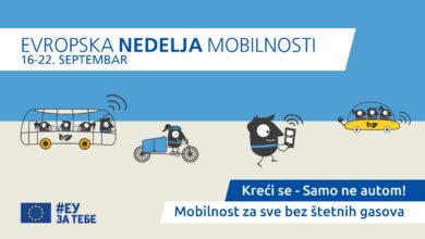 Photo of Evropska nedelja mobilnosti 2020 u Nišu