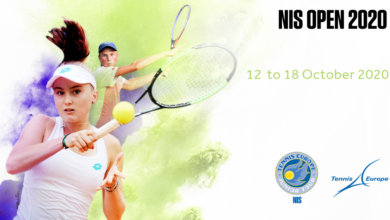 "Photo of Završen ITF turnir ""NIŠ OPEN 2020"", kreće ""TENNIS EUROPE TURNIR"""