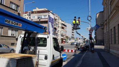"""Photo of JKP """"Parking servis"""": Radovi na zameni neispravnih sijalica i signalizaciji"""