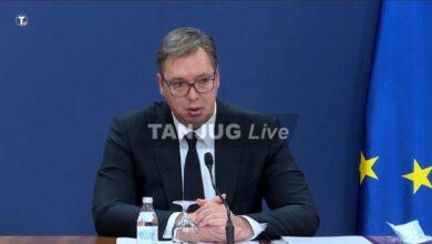 Photo of Vučić: Danas najgori dan do sada, veoma oštre sankcije za one koji ne poštuju mere