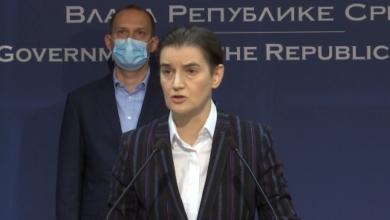 Photo of Brnabić: Očekujem danas više od 5.000 novozaraženih koronom; Tiodorović: Situacija zabrinjavajuća, umiru i mladi