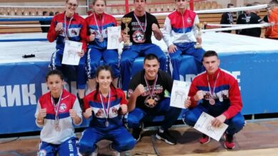 "Photo of LAZAR ARSIĆ NAJBOLJI SENIOR PRVENSTVA-Kik bokserima ""Niša"" još jedan pehar"
