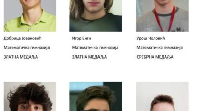 Photo of Srpski srednjoškolci ekipni prvaci Balkana u matematici, niškom gimnazijalcu Jovanu Arizanoviću bronzana medalja