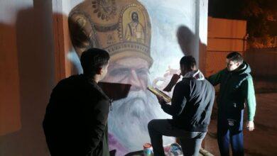 Photo of Mural sa likom mitropolita Amfilohija na Delijskom Visu