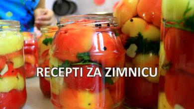 Photo of Svi recepti za zimnicu: paprika, šarena salata, paradajz, karfiol…