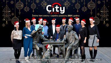 Photo of CITY GRUPA Vam želi sve najlepše u Novoj 2021. godini