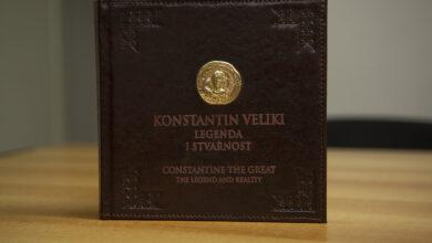 """Photo of Jedinstveni primerak knjige """"Konstanin veliki – legenda i stvarnost"""" na licitaciji Lokalne fondacije Niš"""