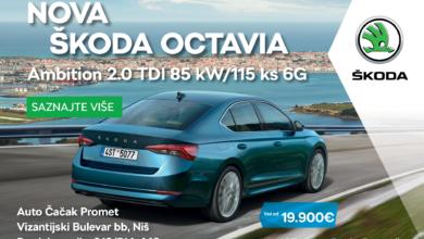 Photo of ŠKODINA VOZILA sve traženija na tržištu automobila