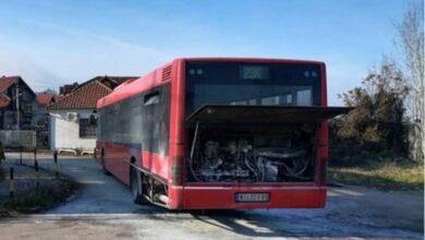 Photo of Zapalio se autobus kod okretnice u Gabrovcu