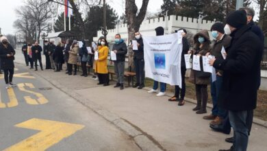 Photo of Protest ispred KPZ-a u Nišu, štrajk glađu dela osuđenika u KPZ-u