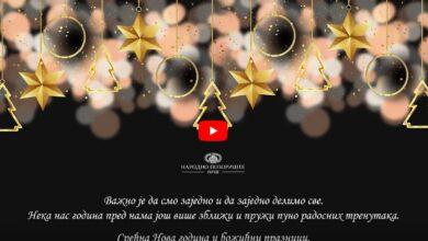 Photo of Glumci Narodnog pozorišta u Nišu vam na neobičan način čestitaju Novu godinu (VIDEO)