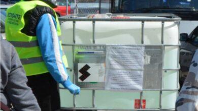 """Photo of Sredstvo za dezinfekciju ubuduće samo na parkingu na ulazu u JKP """"Naissus""""-Medijana"""