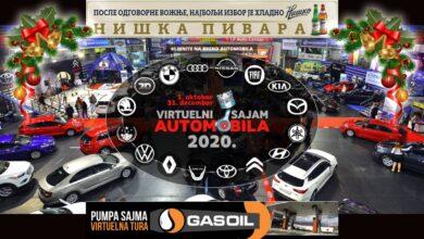 Photo of NOVOGODIŠNJI POPUSTI na virtuelnom SAJMU AUTOMOBILA