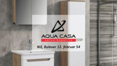Photo of SVE ZA VAŠE KUPATILO! Kvalitetna oprema za kupatilo po veoma povoljnim cenama – AQUA CASA