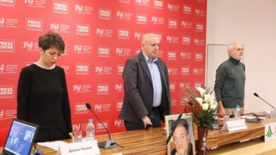 Photo of Poslednji pozdrav kolegi novinaru Miloradu Doderoviću