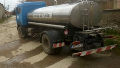 Photo of Auto-cisterna za snabdevanje pijaćom vodom obilazi četiri sela
