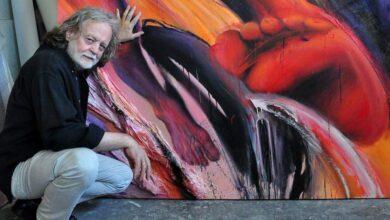 Photo of Dela Miloša Šobajića u Galeriji Art 55