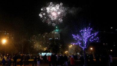 Photo of Simboličan doček Pravoslavne nove godine u Svetosavskom parku.  Bogat vatromet, bez okupljanja (FOTO+VIDEO)