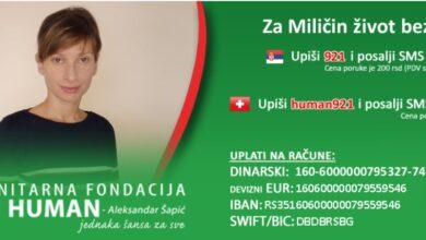 Photo of BUDI HUMAN: Za Miličin život bez bola!
