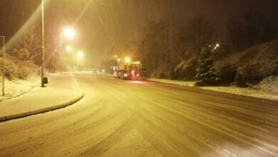 Photo of Ulice prohodne. Noćas bačeno 16 tona mešavine soli i rizle na seoskom području i 12 u gradu